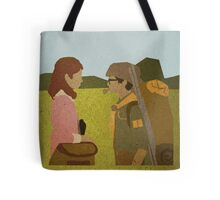 """Were you followed?""  Tote Bag"