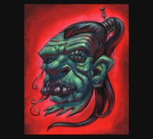 Shrunken Zombie Head Unisex T-Shirt