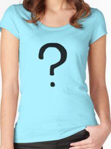 Gotham Riddler Women's Fitted Scoop T-Shirt