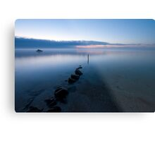Fog Over The Bay Metal Print