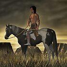 High Plains Warrior by Walter Colvin