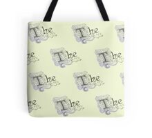 "Spongebob - Detailed ""The"" Pattern Tote Bag"