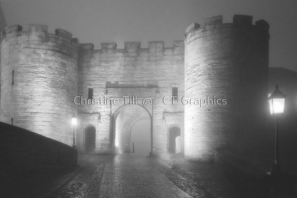 Stirling, Scotland - Now THAT's a castle! by Christine Till  @    CT-Graphics