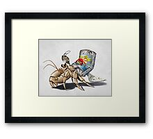 No Place Like Home (wordless) Framed Print