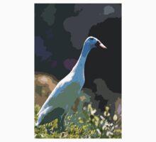 """Ducks - Canards Duck """" said Indian ! """"   03 paint - Peinture (c)(h) by Olao-Olavia / Okaio Créations  canon eos 5 300 mm f/2.8  Kids Tee"""