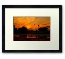 """The Day Thou Gavest,Lord, is Ended"" Framed Print"