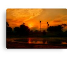 """The Day Thou Gavest,Lord, is Ended"" Canvas Print"