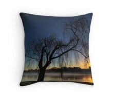 Winter willow 2 Throw Pillow