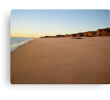North West coast Australia Canvas Print
