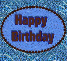 Happy Birthday Blue by Donna Grayson
