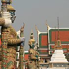 Bangkok Palace Figures by DRWilliams