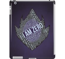 Code GEASS Typography iPad Case/Skin