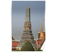 Bangkok Royal Palace Tower Poster