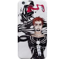 Peter Parker vs. Venom iPhone Case/Skin