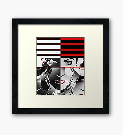 My Own Way  (Tribute to the Genius of Nick Rhodes and Duran Duran) Framed Print