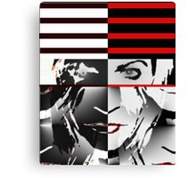 My Own Way  (Tribute to the Genius of Nick Rhodes and Duran Duran) Canvas Print