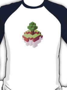 Minecraft Simple Floating Island - Isometric T-Shirt