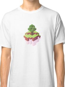 Minecraft Simple Floating Island - Isometric Classic T-Shirt