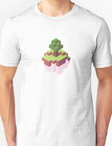 Minecraft Simple Floating Island - Isometric Unisex T-Shirt