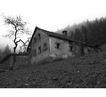 The mysterious house at Ginselberg  Photographic Print