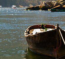 tranquil inlet, Costa da Morte, Galicia, Spain by Andrew Jones
