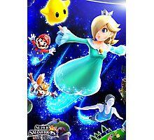 Super Smash Bros - Rosalina & Luma, Mario, Fox, Wii Fit Trainer Photographic Print