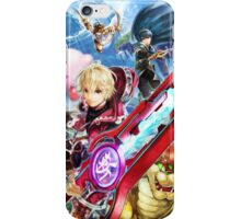 Super Smash Bros - Shulk, Kirby, Bowser, Marth, Ike iPhone Case/Skin