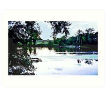 Look Across the River Art Print