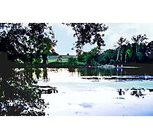 Look Across the River Photographic Print