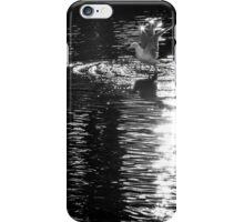 Seagull taking flight iPhone Case/Skin