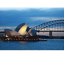 Sydney Harbour Sunset Photographic Print