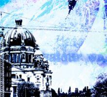 Blue Berlin Sticker