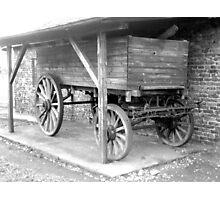 wagon ( Birkenau ) Photographic Print