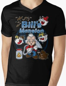 Bill's Mansion Mens V-Neck T-Shirt
