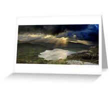 Barley Lake Sunrise Greeting Card