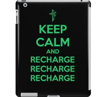 Keep Calm and Recharge (ENL) iPad Case/Skin