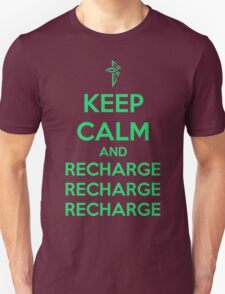 Keep Calm and Recharge (ENL) T-Shirt