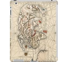 1513 World map by Martin Waldseemüller iPad Case/Skin