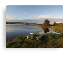 Beautiful Clare lake Canvas Print