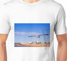 Seagull on Chipiona Unisex T-Shirt