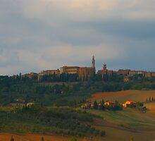Pienza, Tuscany, Italy by Andrew Jones