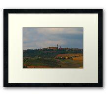 Pienza, Tuscany, Italy Framed Print