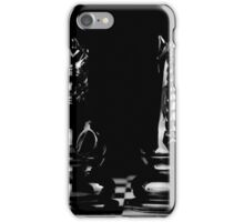 horses black chess iPhone Case/Skin