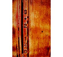 petrol bowser Photographic Print