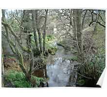 Stonegate Mill  in the spring Poster