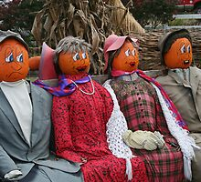 HAPPY HALLOWEEN SCARECROWS by REDREAMER