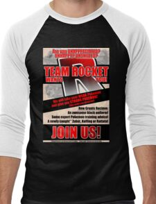 Pokemon - Team Rocket Recruitment Men's Baseball ¾ T-Shirt