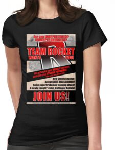 Pokemon - Team Rocket Recruitment Womens Fitted T-Shirt