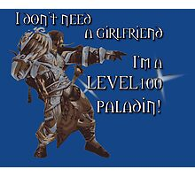Level 100 Paladin Photographic Print