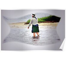 Salt Water Fly Fishing Poster